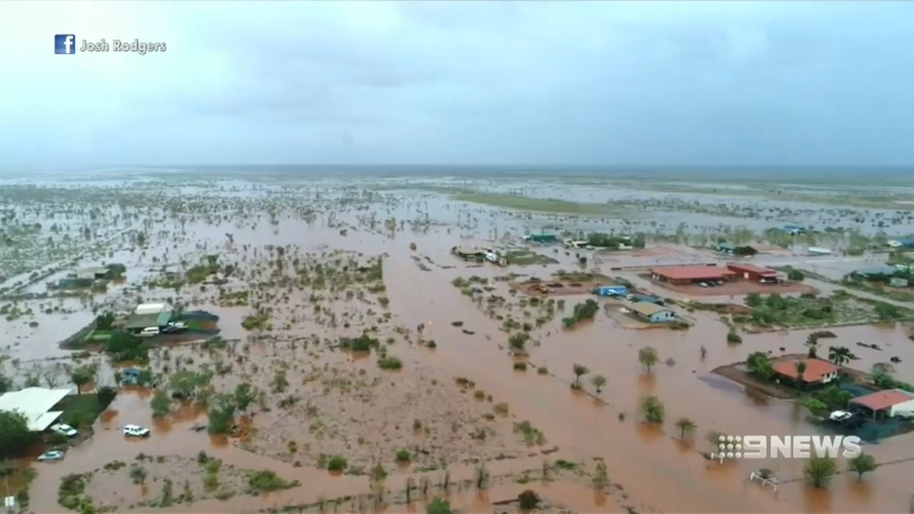 High risk of flooding and rainfall after Cyclone Veronica