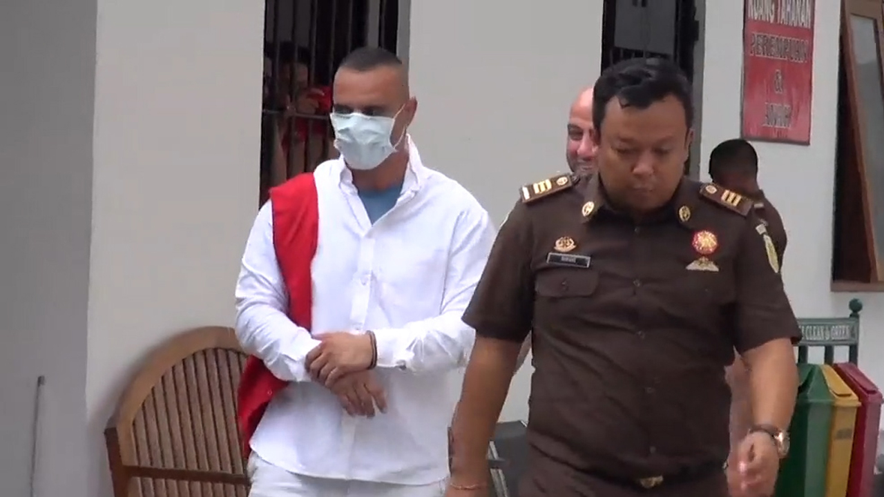 Bilal Kalache from Merrylands has been sentenced to jail for stealing a handbag in Bali