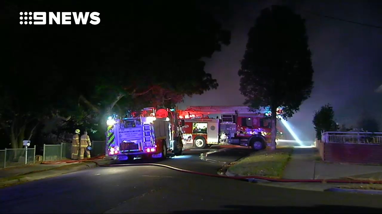 Man arrested following suspicious housefire in Melbourne