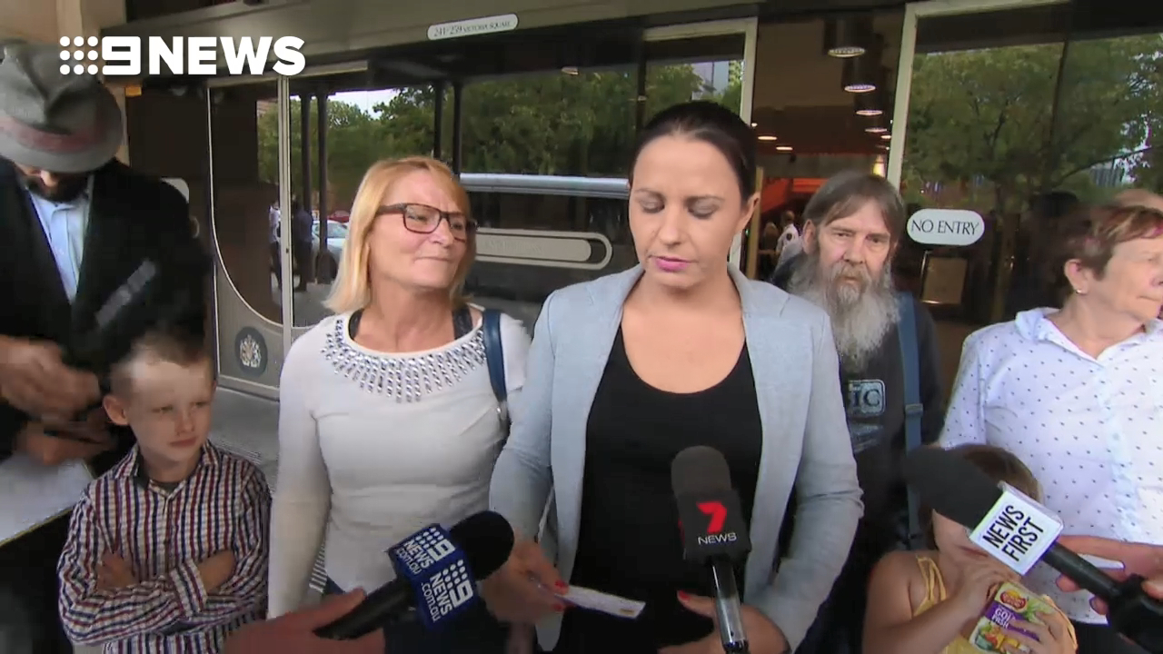Sister of man bashed to death speaks outside court