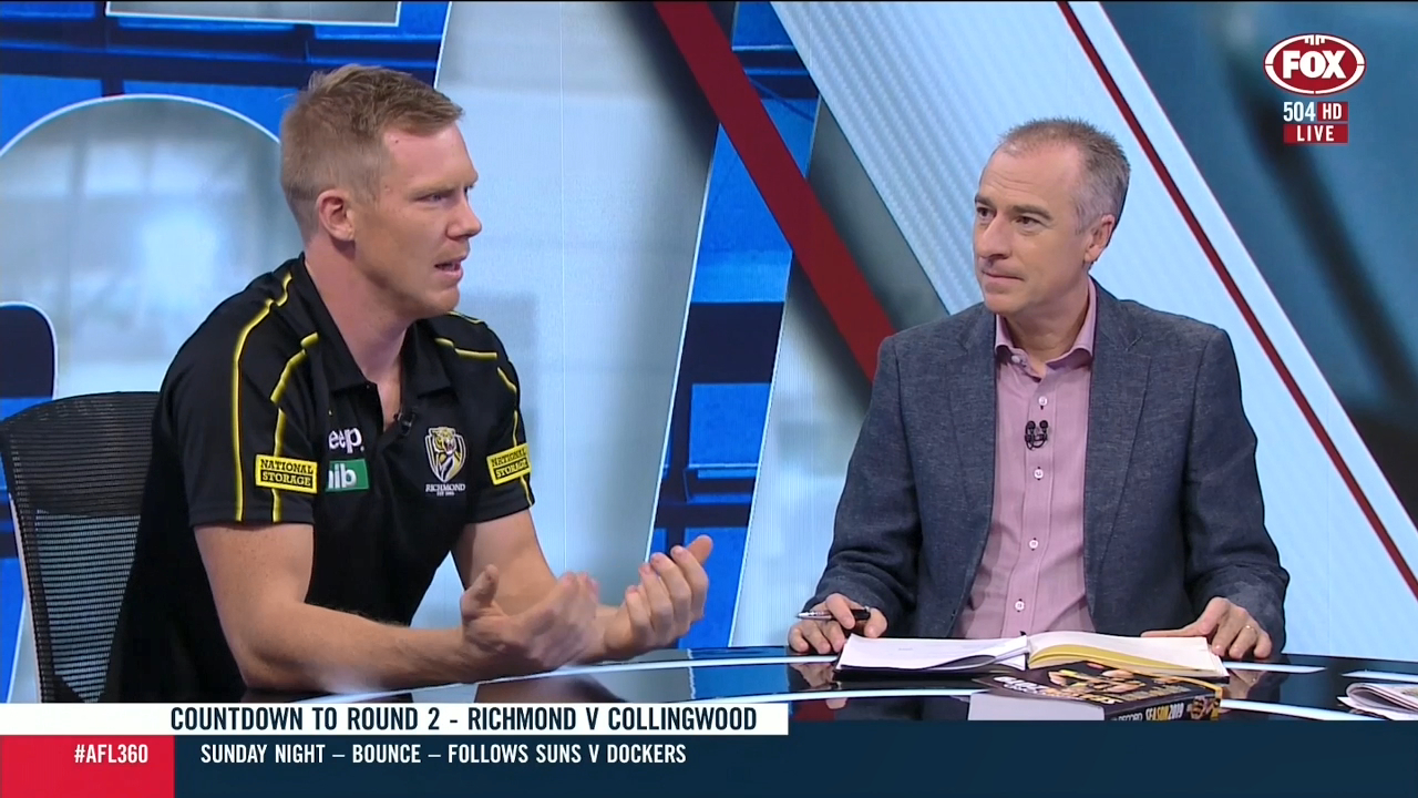 Riewoldt unimpressed by Jones hit
