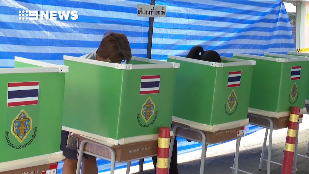Thai voters brave long queues to cast their ballots