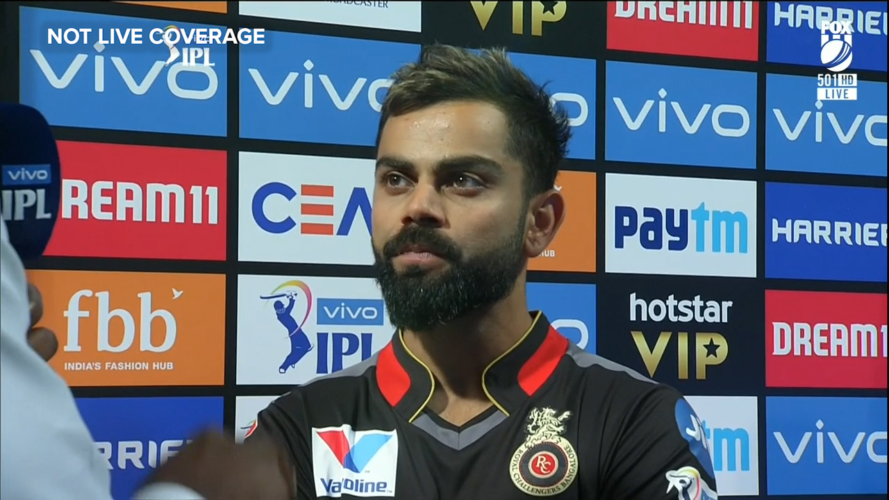 Kohli slams IPL officiating