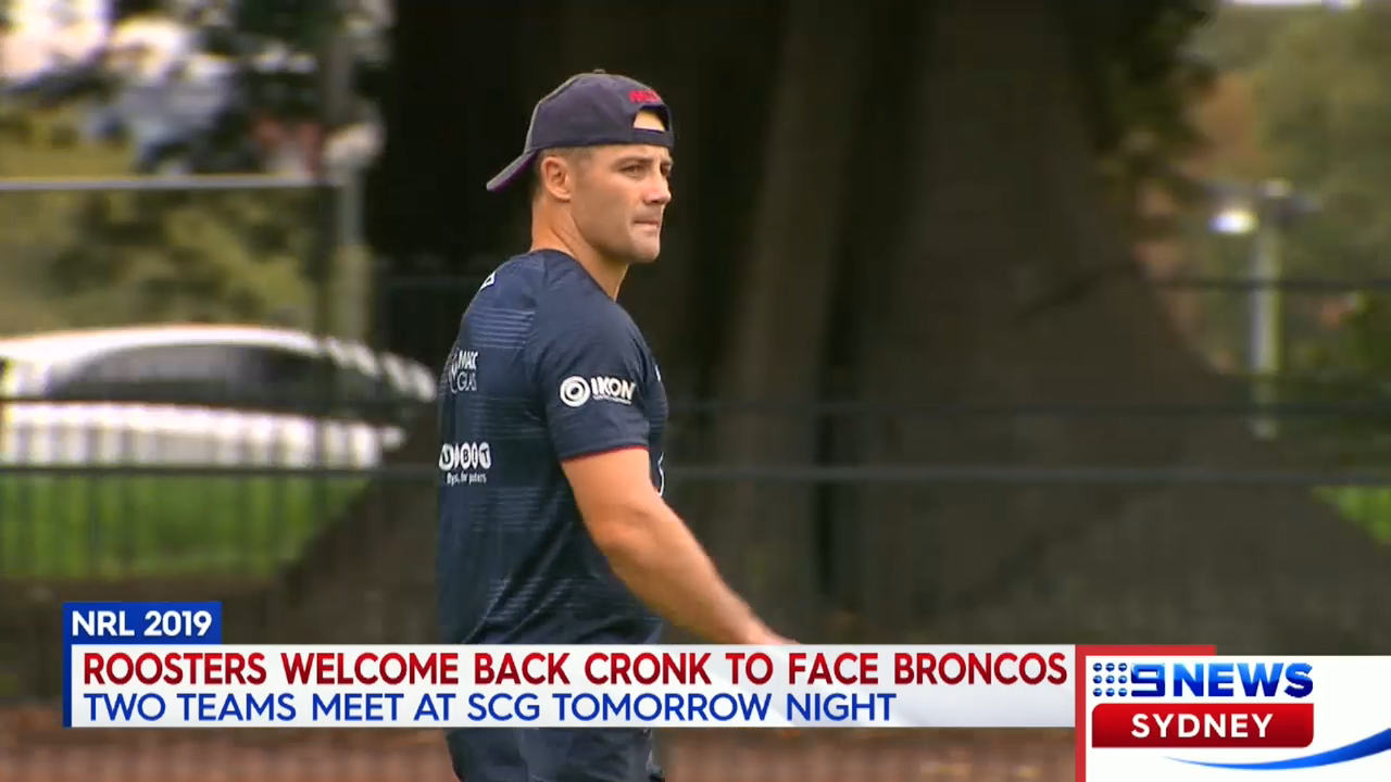 Cronk to return for Roosters
