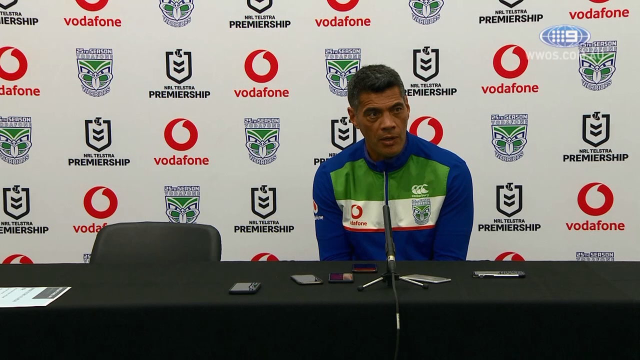 NRL Press Conference: Stephen Kearney - Round 4