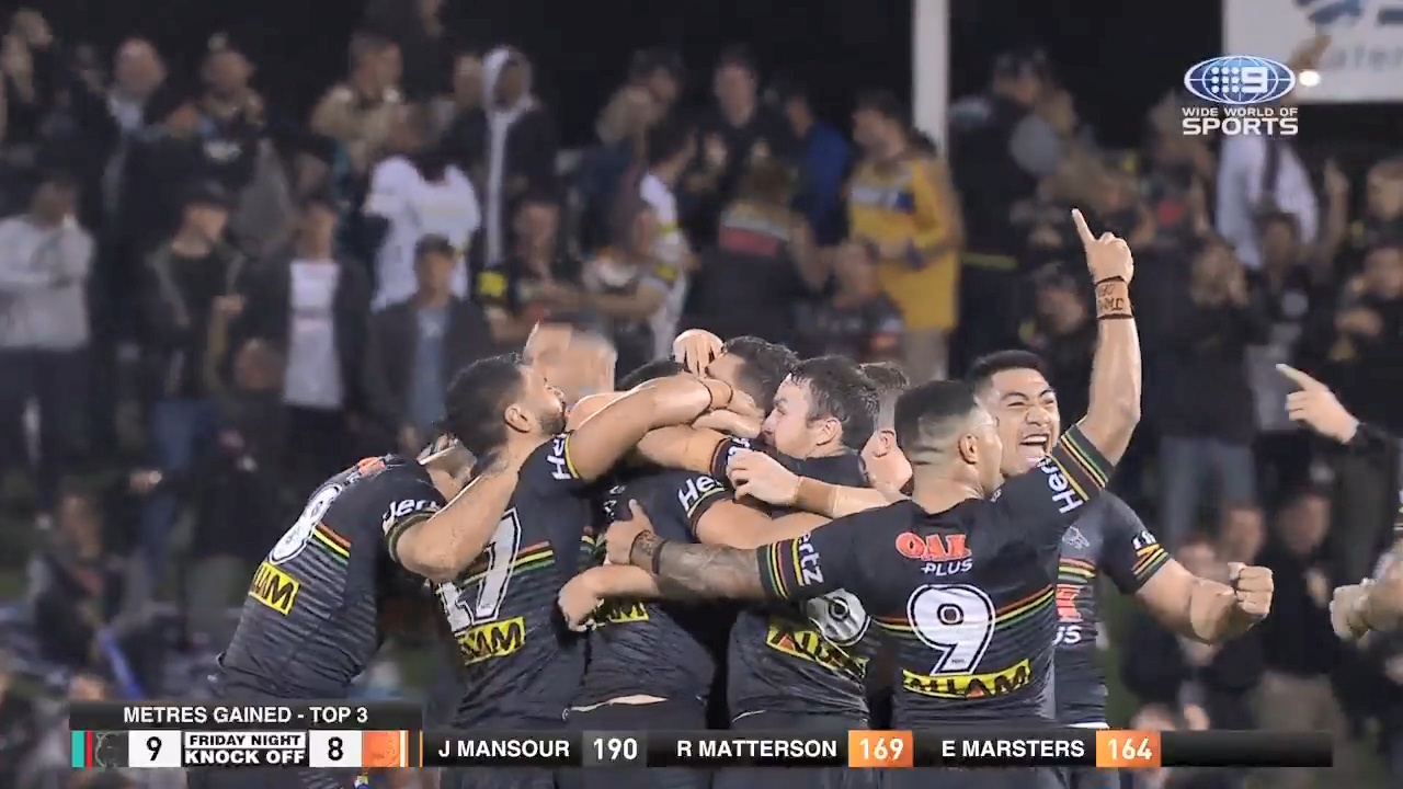 Cleary heroics saves Panthers