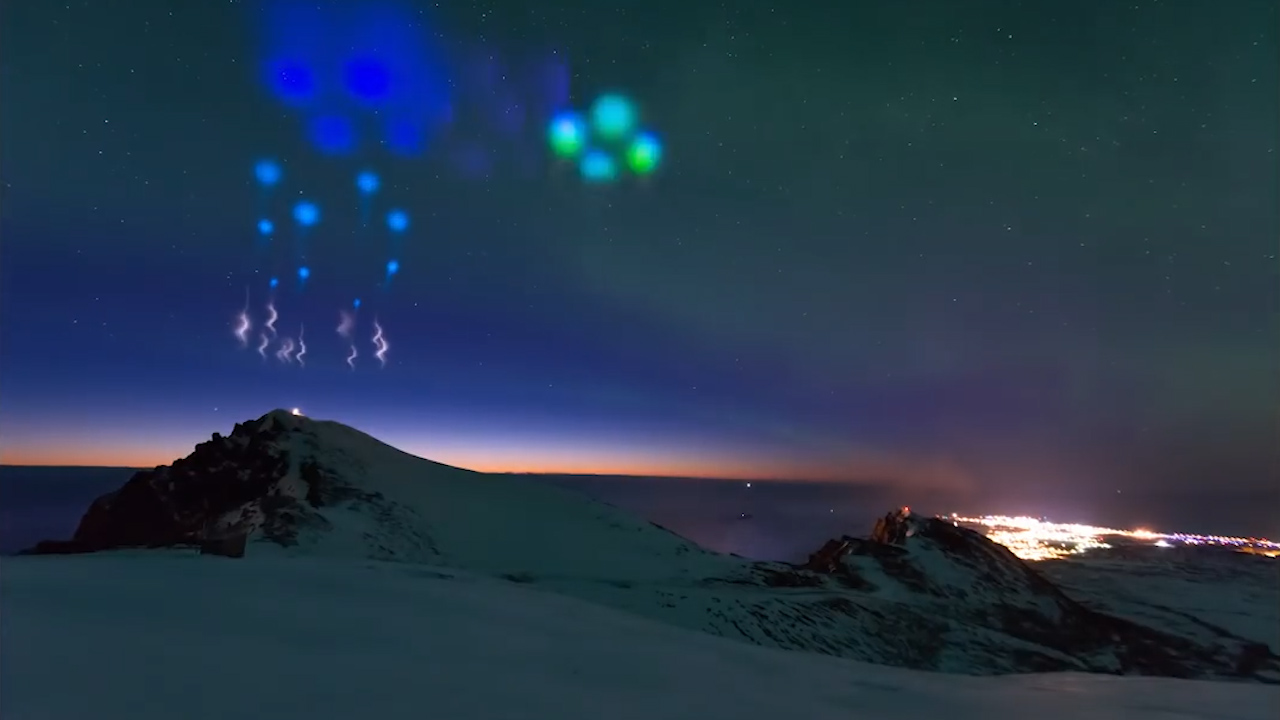Strange 'Alien' Lights From NASA Aurora Experiment Looks Out Of This World