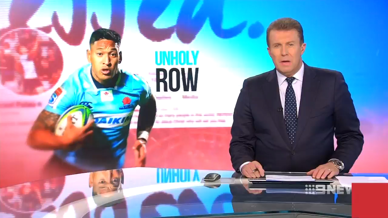 Rugby Australia set to sack Folau