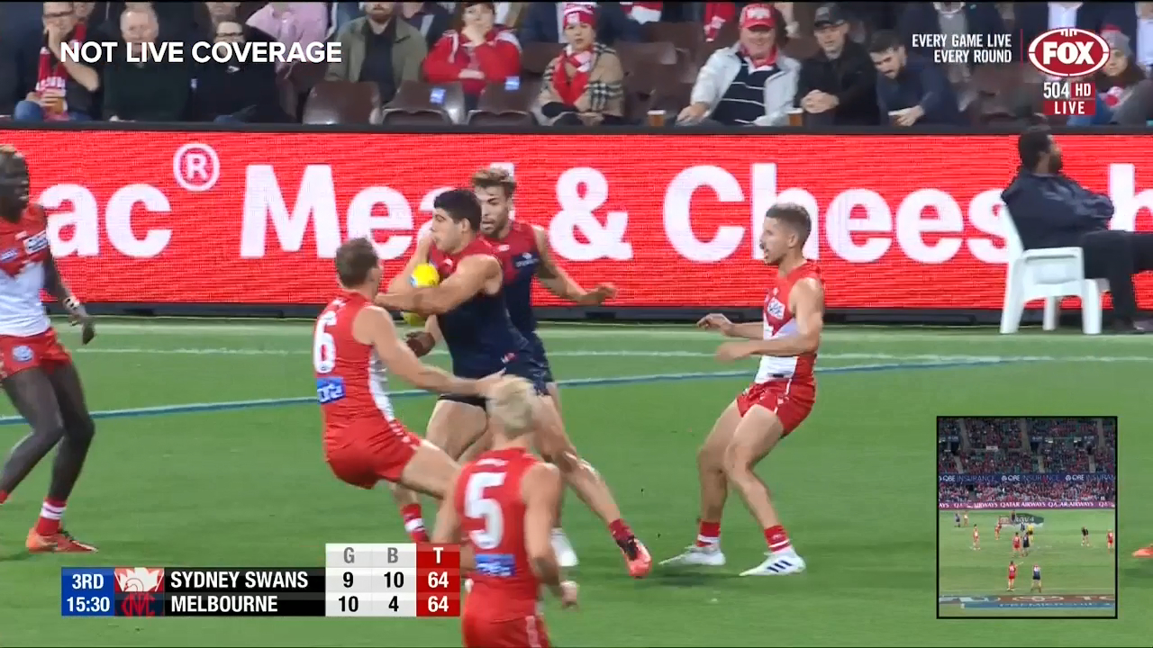 Petracca with the tough finish
