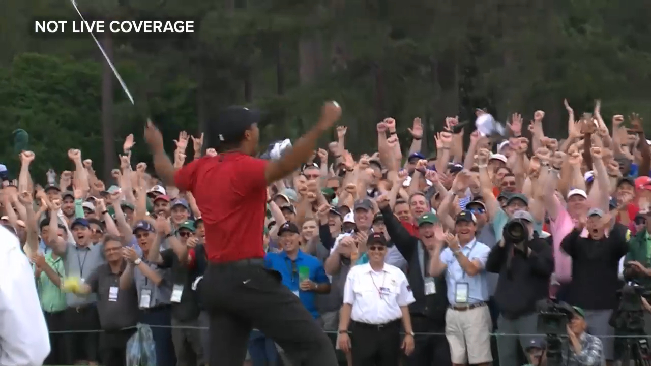 Tiger claims fifth Masters title