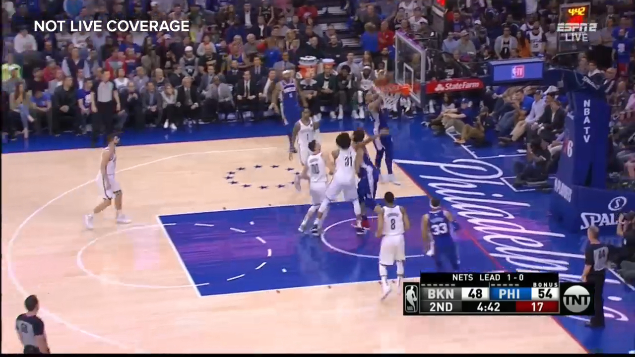 Simmons on fire