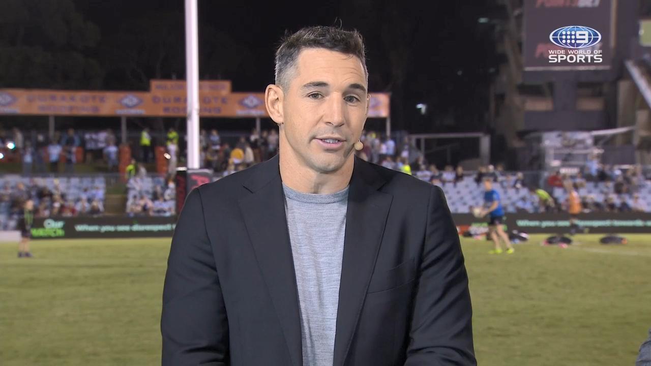 Billy pays tribute to retiring Inglis