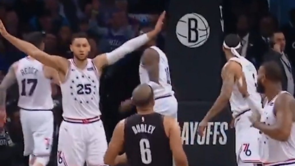Ben Simmons trolls trash-talking Dudley