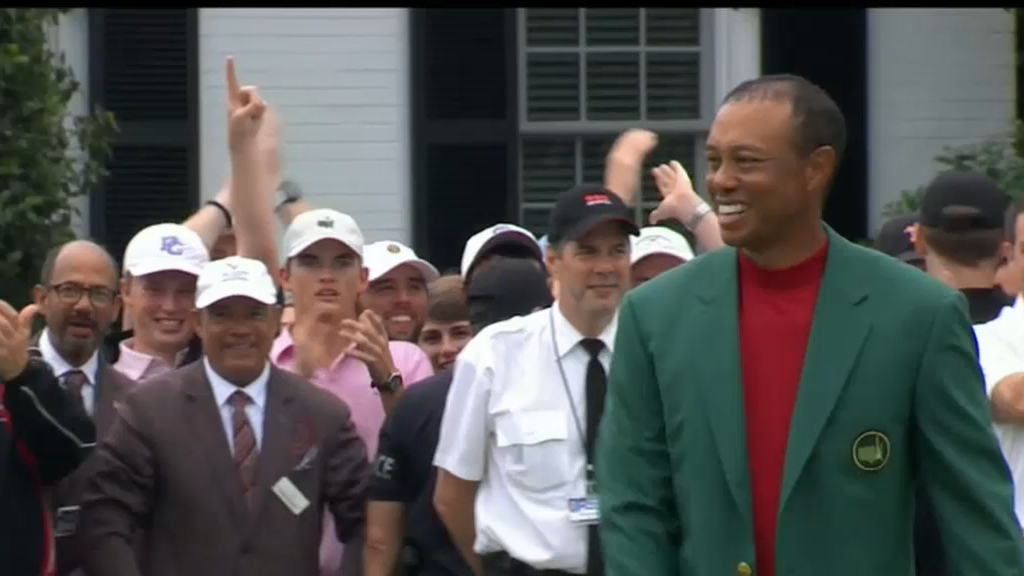 Tiger Woods' road to redemption