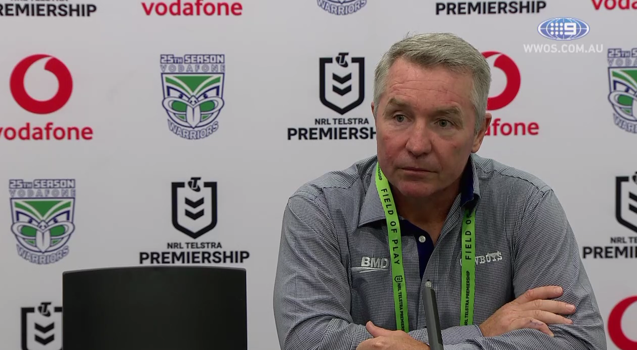 NRL Press Conference: Paul Green - Round 6