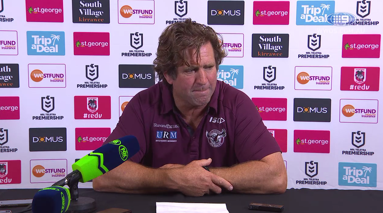 NRL Press Conference: Des Hasler - Round 6