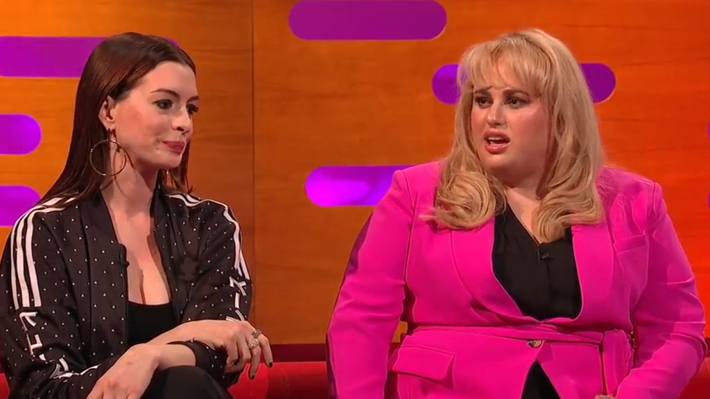 Rebel Wilson reveals Anne Hathaway likes being insulted by her