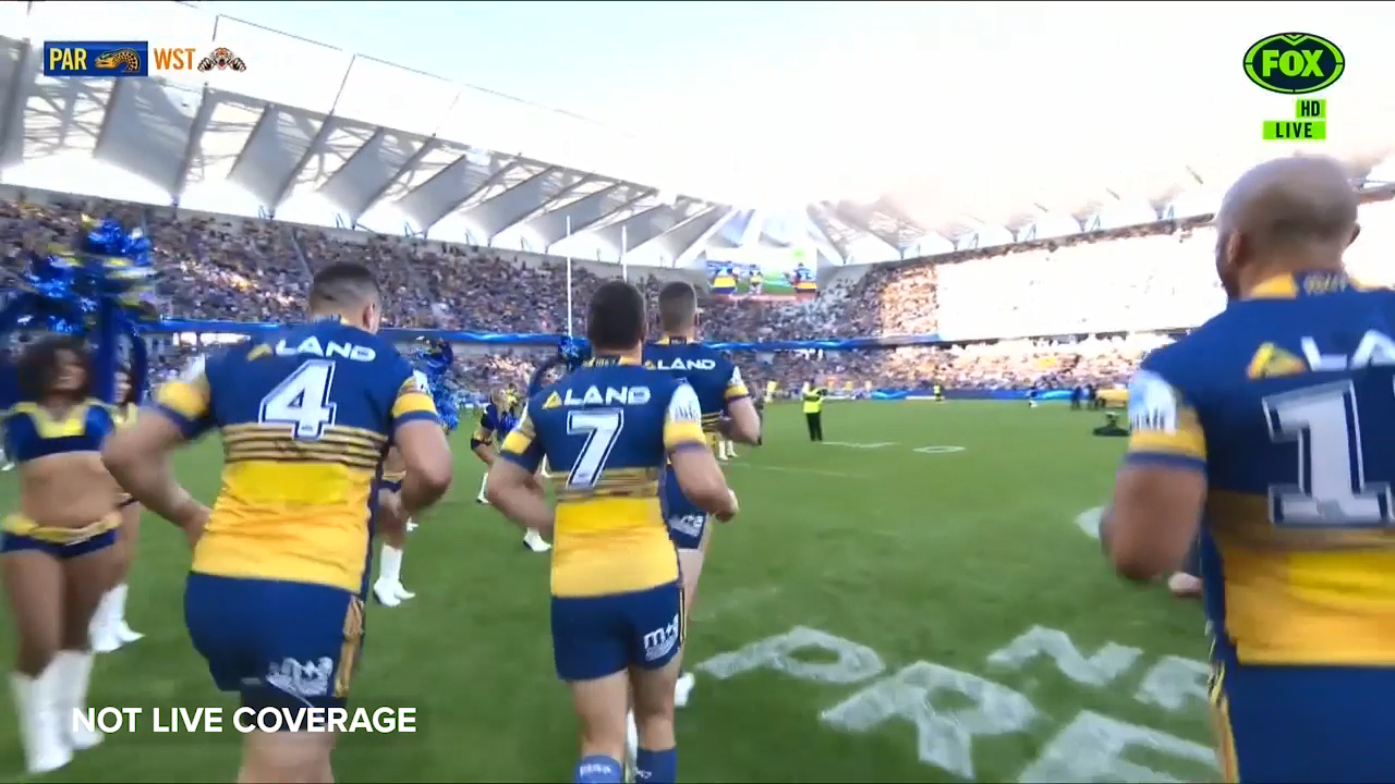 Eels run out onto Bankwest