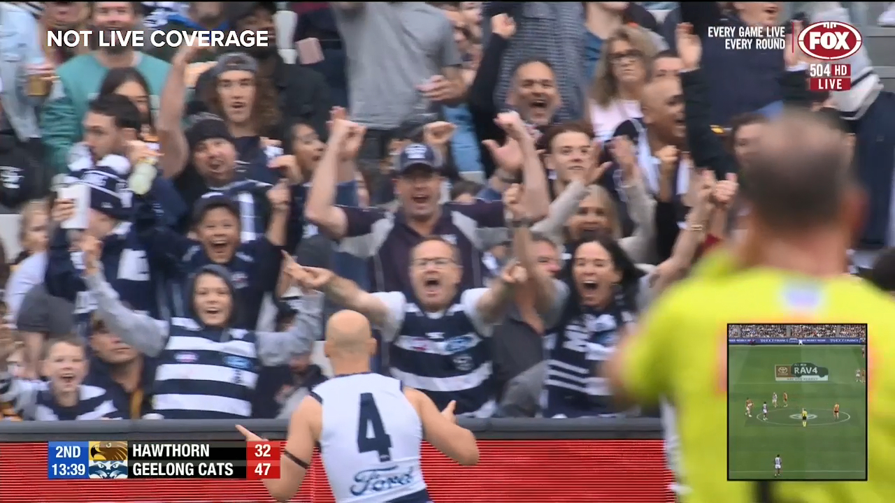 Ablett provides some magic