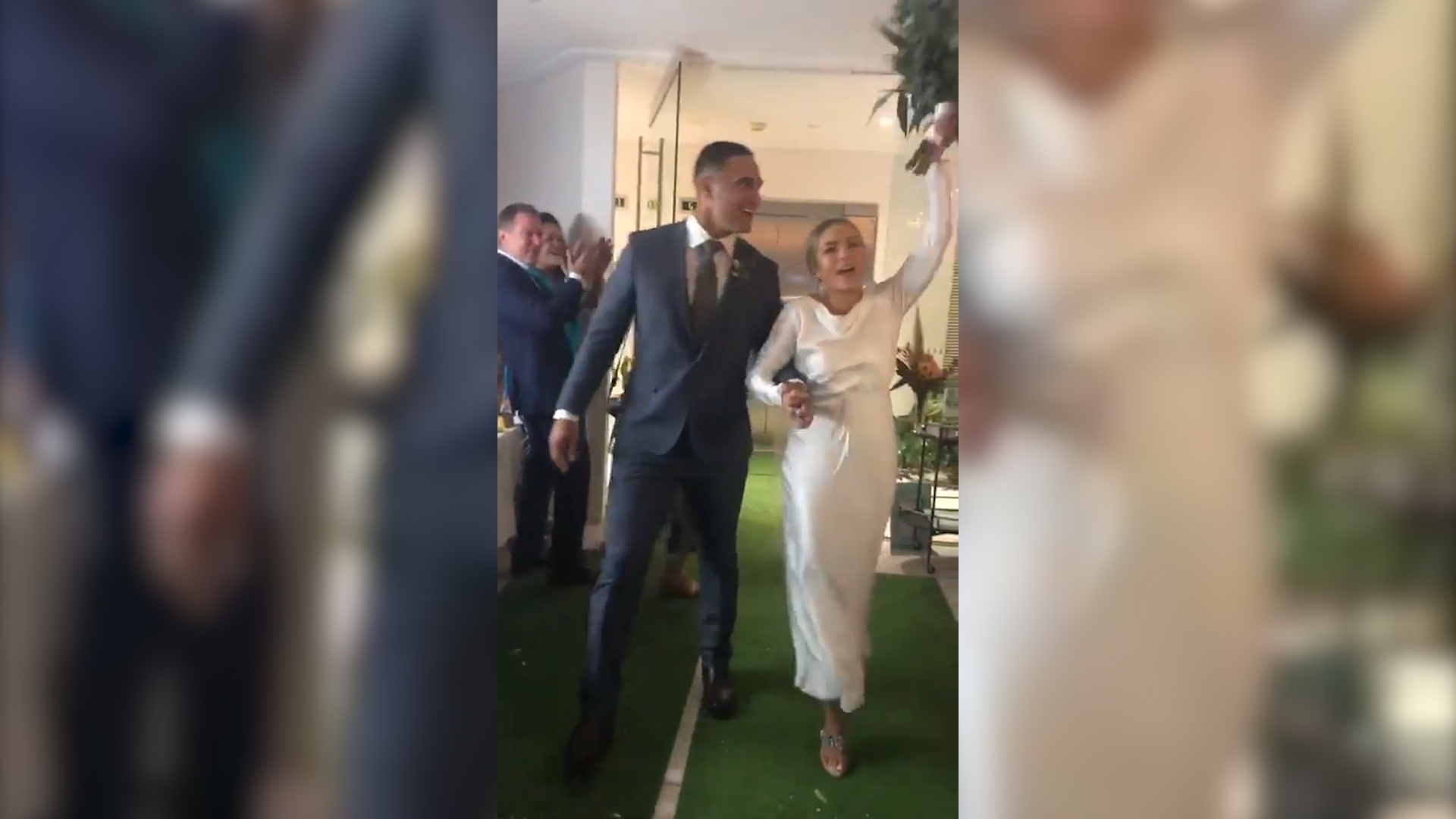 Holmes gets married in Townsville