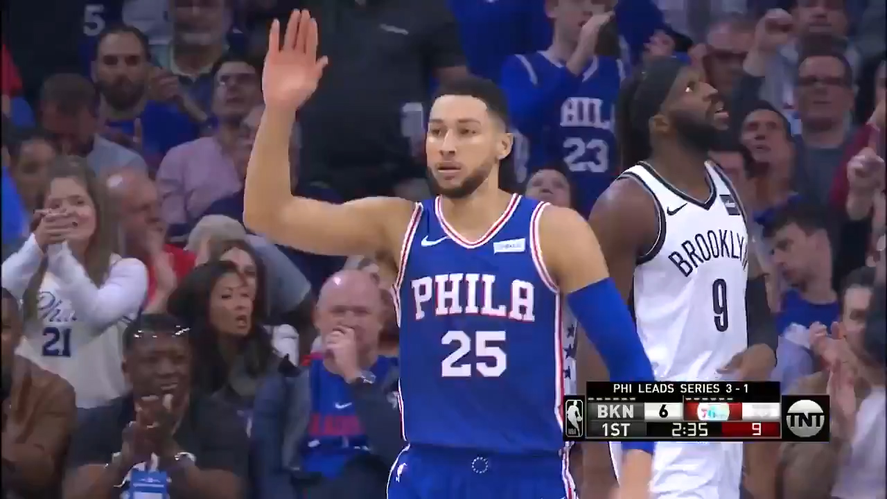 Simmons 'expresses himself' as 76ers win series