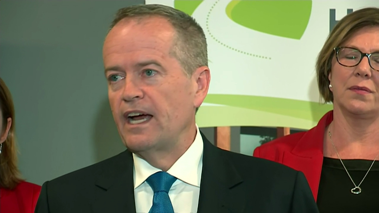 Bill Shorten pays emotional tribute to his mother