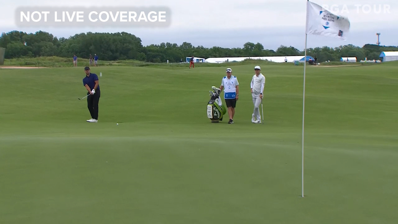 AT&T Byron Nelson: Tony Romo produces the shot of the day