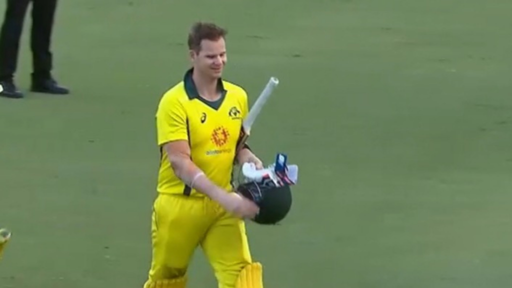 Smith just misses out on century