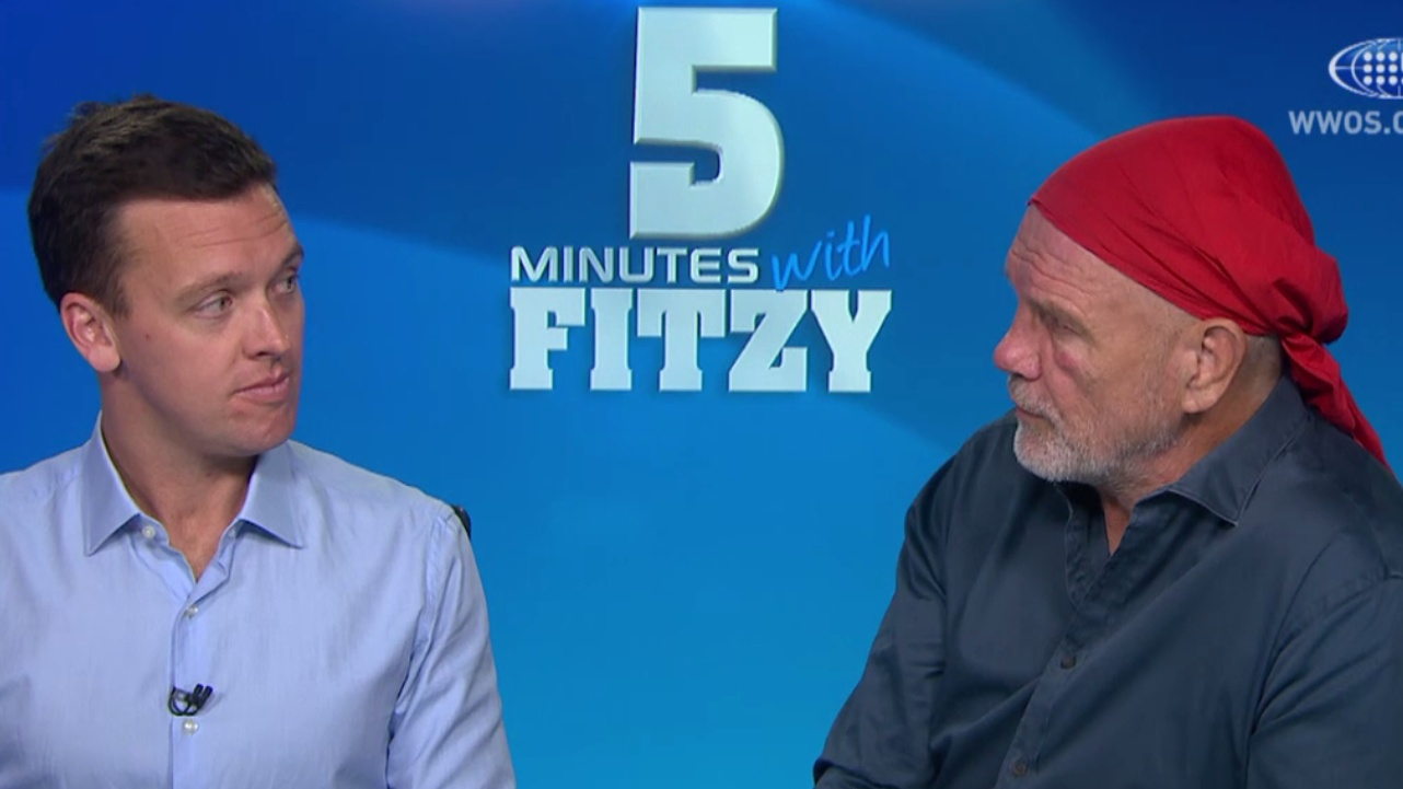 Rugby's Folau hangover – 5 Mins with Fitzy