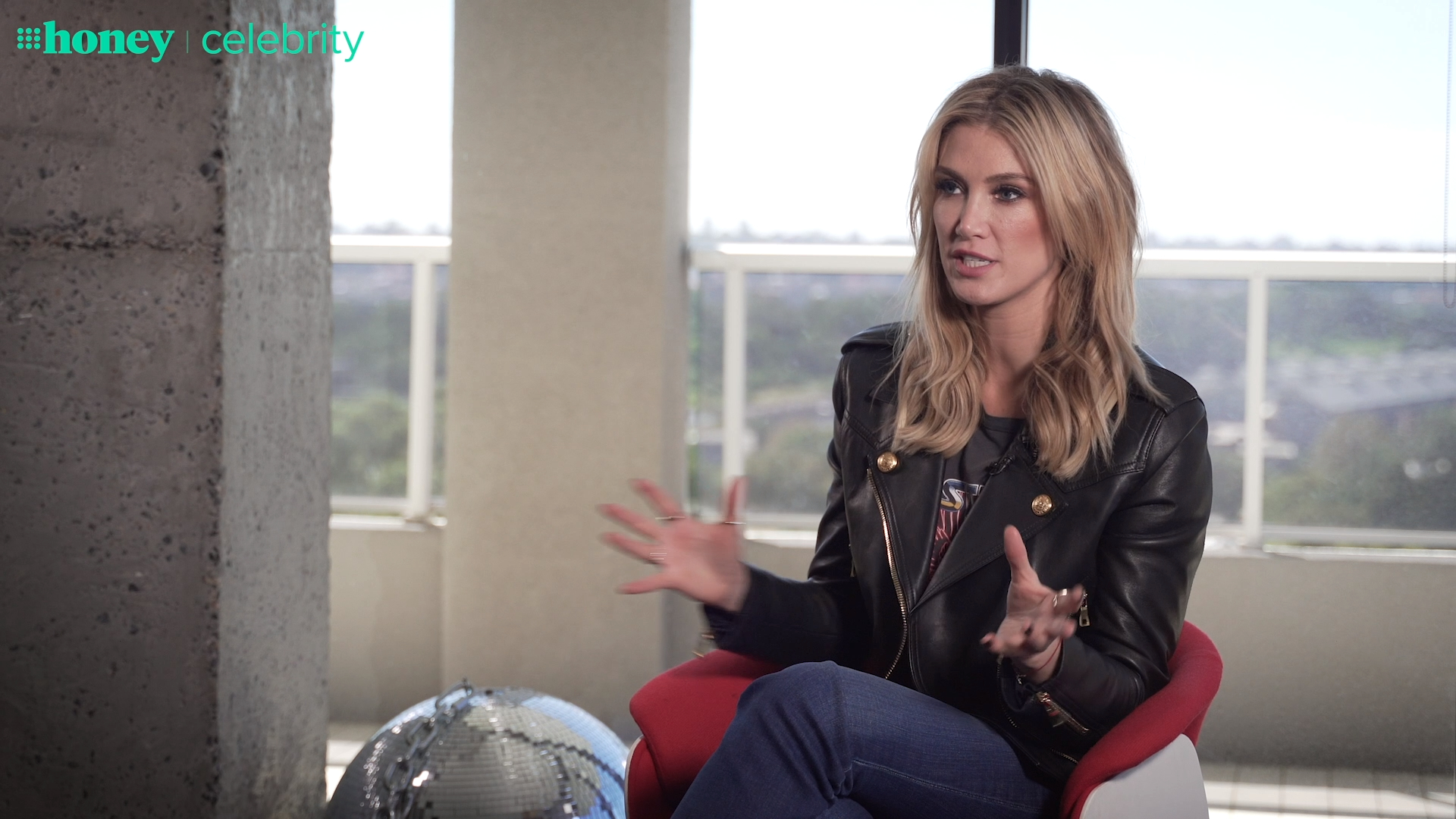 Delta Goodrem talks about being a veteran Coach on 'The Voice Australia'