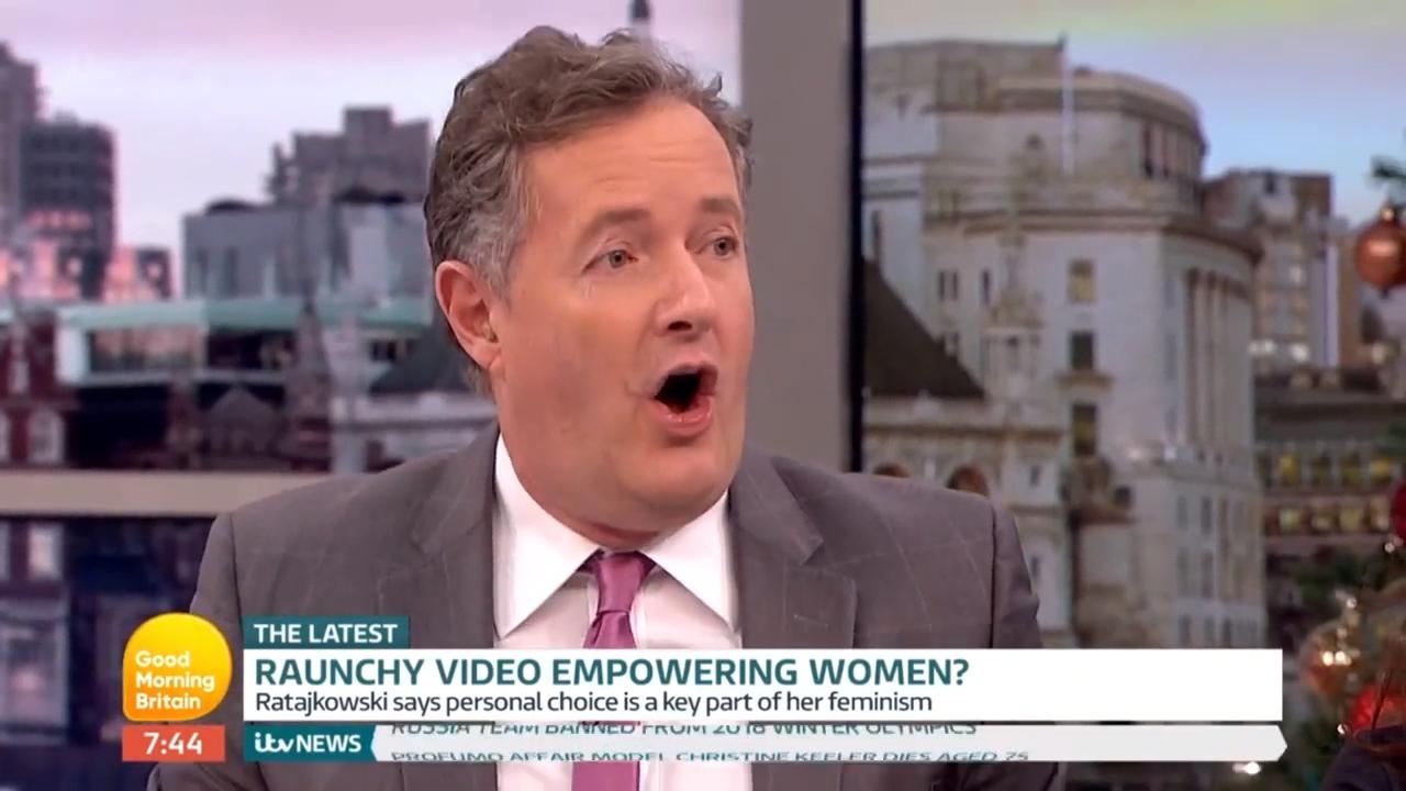 Piers Morgan calls Emily Ratajkowski a bad feminist