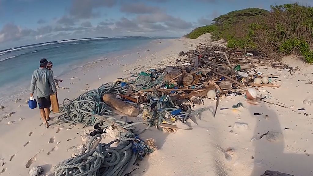 414 million pieces of plastic found on remote Australian islands