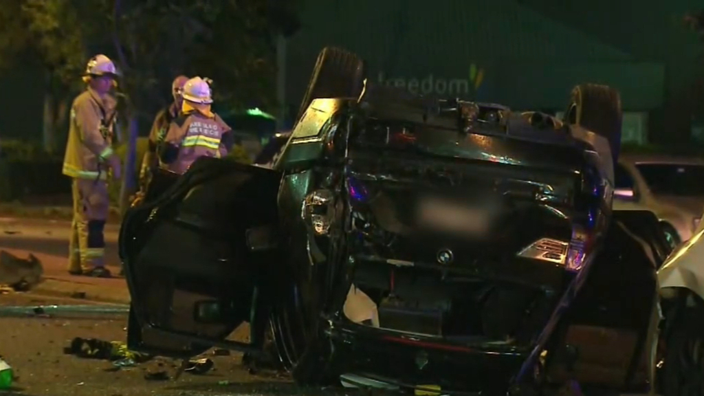 Two dead after Brisbane car crash