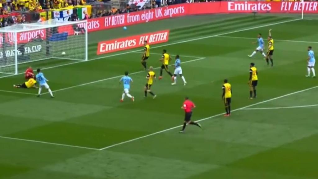 Man City win FA Cup final 6-0