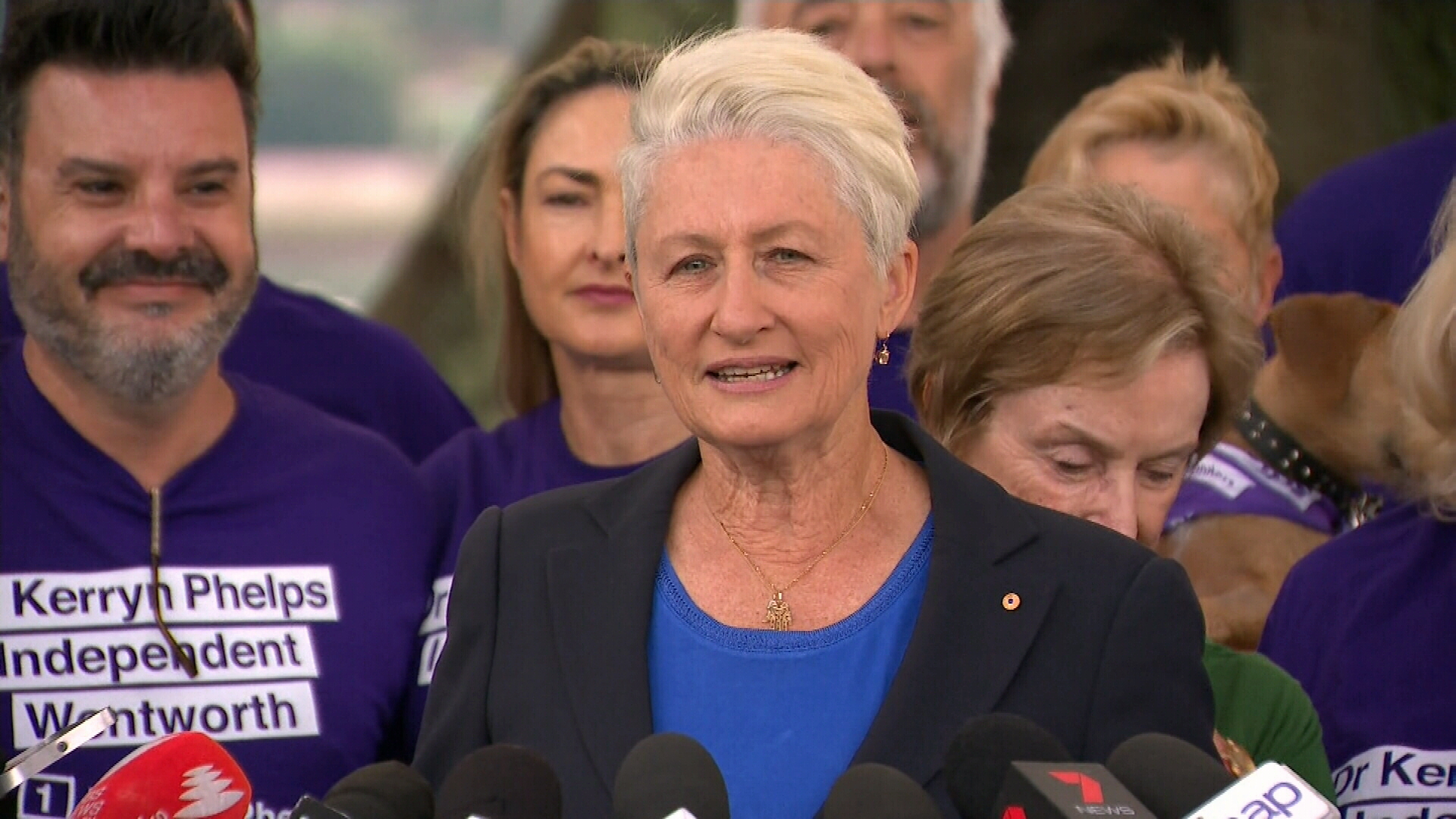 Kerryn Phelps concedes defeat in the seat of Wentworth