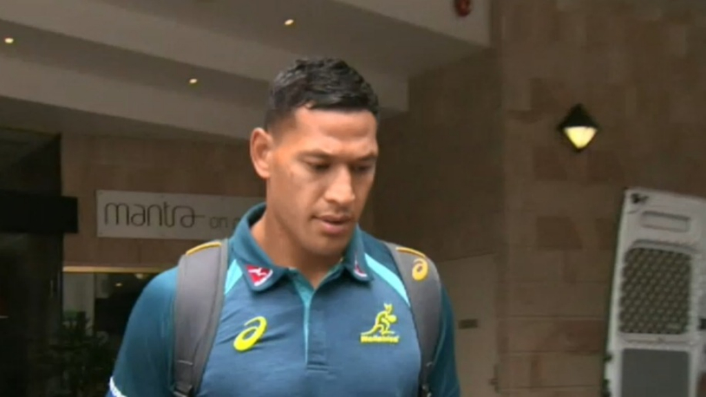 Israel Folau fails to appeal Rugby Australia sacking