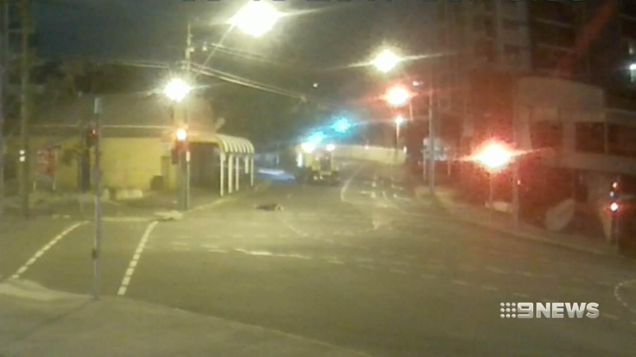 Queensland Rail worker on trial for pedestrian hit and run