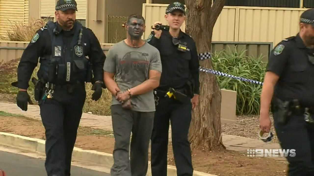 Man in custody following violent rampage in Adelaide's north-east