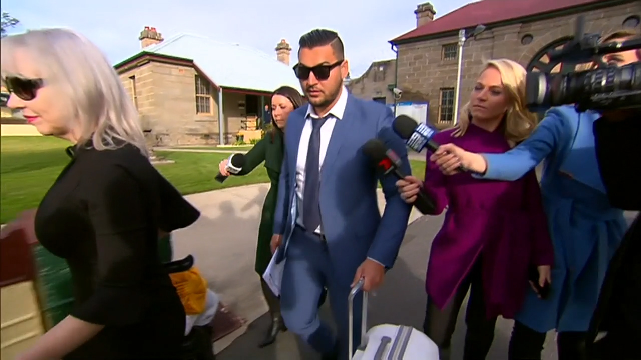 Salim Mehajer walks free from jail