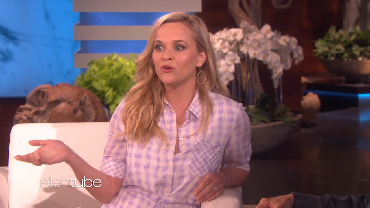 Reese Witherspoon weeped when eldest daughter went away to college