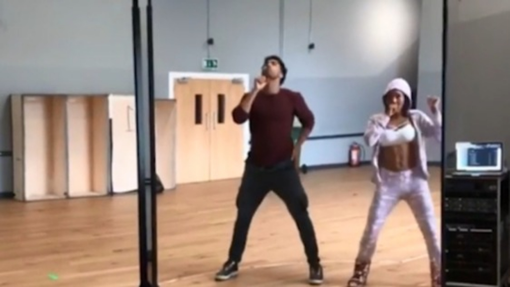 Mel B is deep in rehearsals for Spice Girls tour