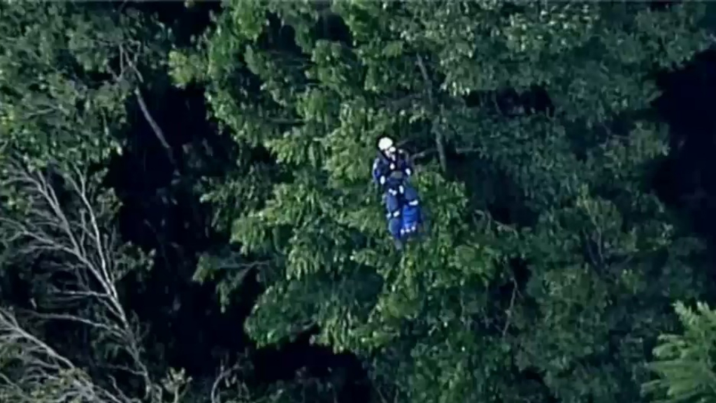 Woman and child go over edge of cliff south of Sydney