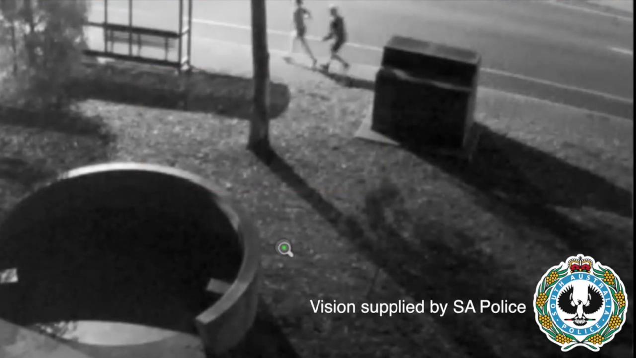 SA Police release CCTV following attack on female jogger