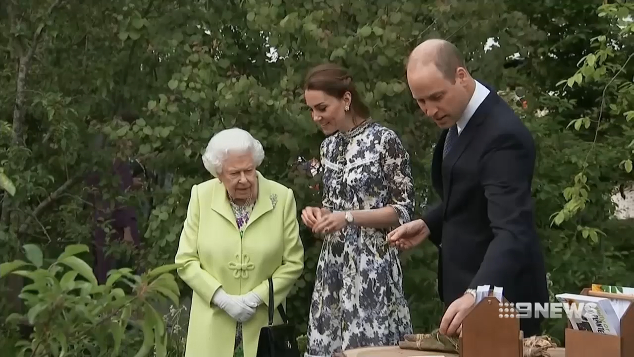 Royals step out at the Chelsea Flower Show