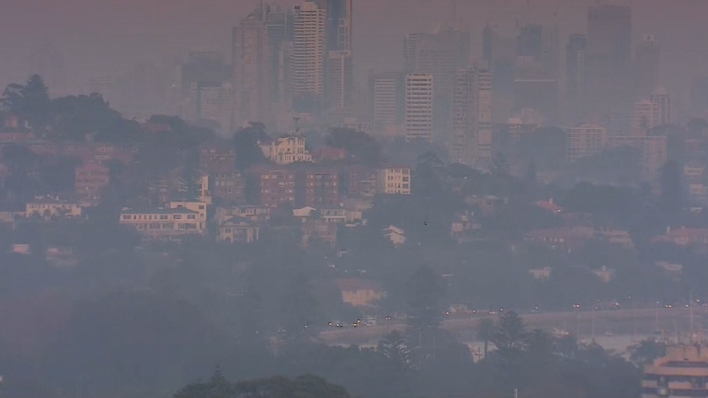 Health alert issued as Sydney wakes to smoky morning