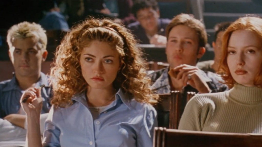 Rebecca Gayheart stars in 'Urban Legend'