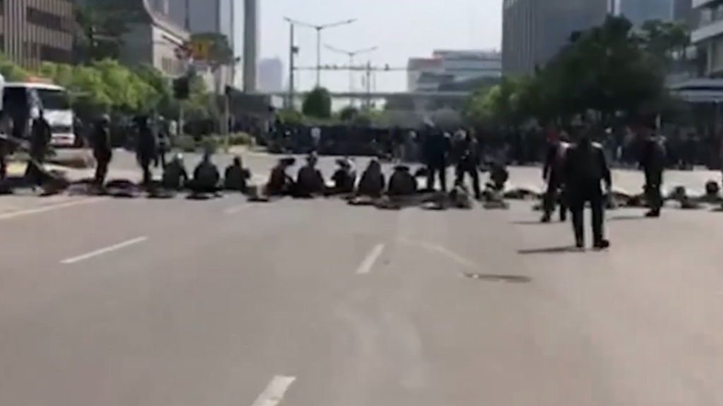 Renae Henry reports from Jakarta after election riots