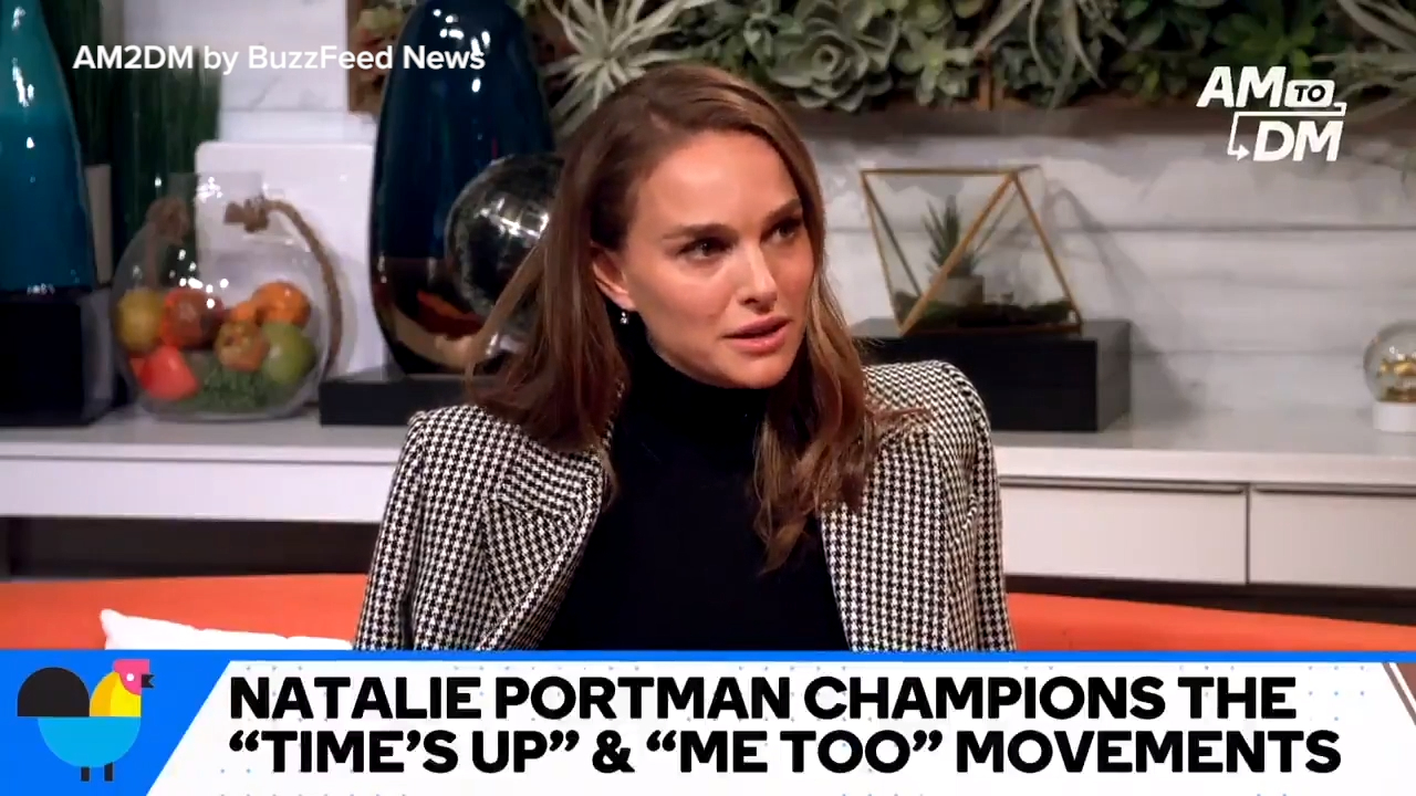 Natalie Portman weighs in on #MeToo Movement