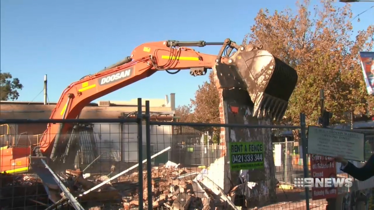 Subiaco markets demolished
