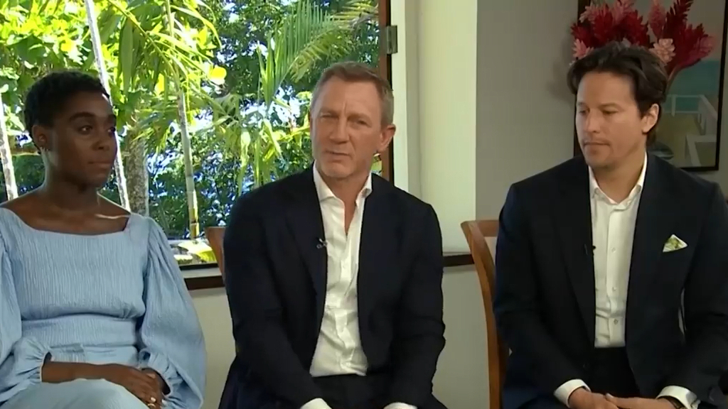 Richard Wilkins' exclusive interview with Daniel Craig